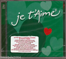 Je T'aime 3 *10 (2004) 2CD NUOVO Nat King Cole duet Natalie Cole. Unforgettable