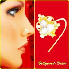 Bollywood STRASS nasale spina nasale Piercing Ethnik India Nose Pin MODEL n-46