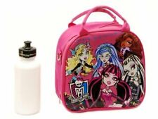 Monster High Shoulder Strap Pink Insulated Lunch Box School Bag
