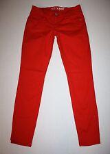 Old Navy The ROCK STAR Orange Denim Skinny Jeans Size 4