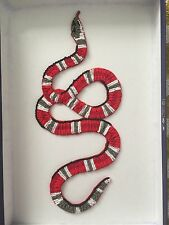 Gucci Snake Patch Beaded