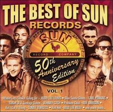 Best of Sun Records 50th Anniversary Edition, Vol. 1 CD Cash Perkins Lewis NEW