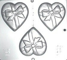 Heart with Bow Chocolate Candy Mold Valentine  3040 NEW