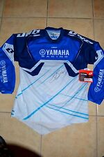 JUSTIN BARCIA Signed ONE INDUST YAMAHA CARBON JERSEY - LARGE