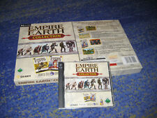 Empire EARTH-Collection PC entrambe le parti il tedesco in Big Box da collezione TOP