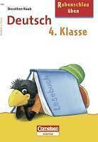Rabenschlau üben, Deutsch 4. Klasse von Dorothee Raab (2006, Taschenbuch)