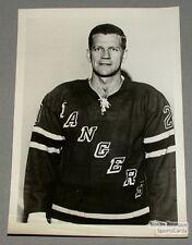 Original Mid-60's Phil Goyette  N.Y. Rangers Photo