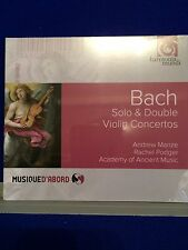 NEW SEALED Bach Solo & Double Violin Concertos 2016 CD Audio