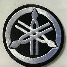 Yamaha  Motorcycles  embroidered cloth patch.   B031204