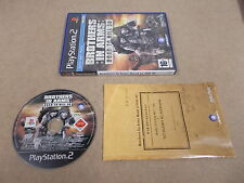 PS2 Playstation 2 pal jeu brothers in arms road to hill 30 avec boite d'instruction