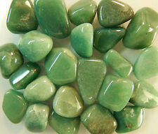 Tumbled Green Aventurine 1/2 Lb Gemstones Crystals Rocks Stones Grade A Md/Lg
