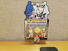 Toynami Robotech I-Men Collection VF-1A and Ben Dixon figures, Brand New!
