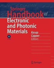 Springer Handbook of Electronic and Photonic Materials  Hardcover