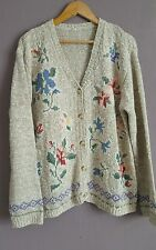 Urban Outfitters VTG Renewal Oversized Floral  Granny Buttoned Cardigan 14/16