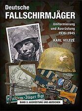 DEUTSCHE FALLSCHIRMJÄGER Uniformierung und Ausrüstung 1936-45 Helme Buch Band 2