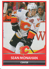 16/17 PANINI NHL STICKER #270 SEAN MONAHAN FLAMES *24902