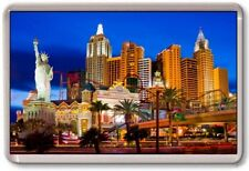 FRIDGE MAGNET - LAS VEGAS - Large Jumbo - USA MANHATTAN
