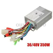 Electric Bike Brushless Motor Controller 36/48V 350W For Electric Scooters New