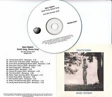 MARY HOPKIN Earth Song / Ocean Song UK Apple remastered 13-track promo test CD