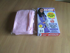 PINK extra long Fleece Jumbo Scarf with pockets BOXED (soft micro-fleece)