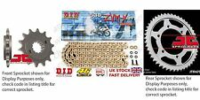 DID X Ring Pro Gold Chain Kit 17/45t 530/122 fit Yamaha FZ1 YG,YL,YCL -USA 09