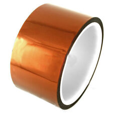 50mm 5cm x 30M Kapton Tape Sticky High Temperature Heat Resistant Polyimide G1CG