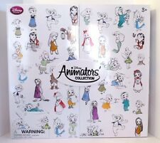 DISNEY ANIMATORS COLLECTION 5 INCH MINI DOLL GIFT SET of 15 BRAND NEW.