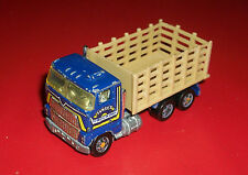 #### VINTAGE HOTWHEELS BLACKWALL BLUE FORD STAKE BED TRUCK SUNSET TRUCKING 1983