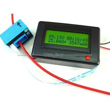 100A Bluetooth DC Multimeter power Voltage Current Timer METER Battery Monitor