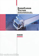 Prospekt Iveco euro cargo Tector alimentos-bebidas-distribuidor de transporte 11/01 D