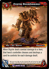 WOW WARCRAFT TCG BETRAYAL OF THE GUARDIAN : ORGRIM DOOMHAMMER X 4