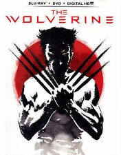 The Wolverine (Blu-ray/DVD, 2013, 2-Disc Set, Includes Digital Copy With Movi...