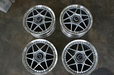 "NEW JDM 17"" Autostrada Modena Racing wheels WORK PCD100 dc2 gc8 st205 ek4 crx ef"