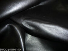 "Leather 12""x12"" Black EXCEL Line Plush Calfskin 2.5-3oz/1-1.2mm"