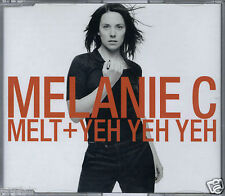 MELANIE C - MELT + YEH YEH YEH 2003 EU MISPRINT CD SINGLE VIRGIN - VSCDY1858