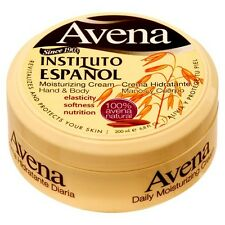 Avena Instituto Espanol Hands Body Oat Moisturizing Cream 6.8oz Crema Hidratante