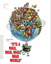 It's a Mad, Mad, Mad, Mad World (Blu-ray Disc, 2014, 5-Disc Set, Criterion...