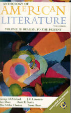 Anthology of American Literature, Volume II: Realism to the Present-ExLibrary