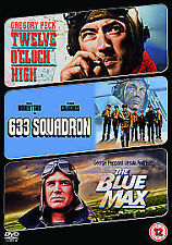 12 o'clock high & 633 squadron & blue max- DVD