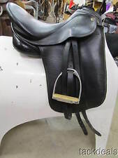 "Theo Sommer Dressage Saddle Used 17"" Medium Passier Fittings Used"