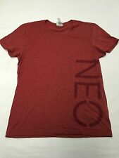 Womens ADIDAS NEO Maroon Recycled Polyester T Shirt Sz 50