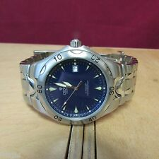 CROTON AQUAMATIC STAINLESS STEEL WATCH WORKS 100%