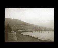Crimée Russie c. 1900 - Port de YALTA - Verre Positif Glass Slide - 9