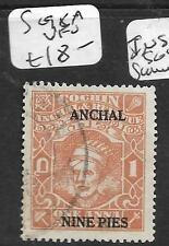INDIA NATIVE STATE COCHIN (P2509B) SG  98A    VFU