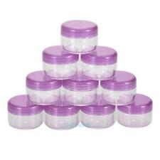 10x Cosmetic Empty Jar Pot Eyeshadow Makeup Face Cream Lip Balm Container Boxes