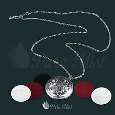 Pure Mist aromatherapy essential oils diffuser pendant necklace locket