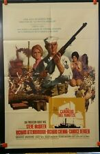 THE SAND PEBBLES 1966 RARE 1-SH THEATRE POSTER STEVE MCQUEEN NORTHERN EXPEDITION
