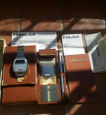PULSAR LED WATCH CALCULATOR COMPUTER MINT CONDITION RARE BOX FULL SET WOW 70s