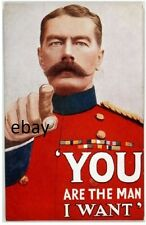 WW1 BRITISH ARMY RECRUITING POSTER LORD KITCHENER NEW A4 PRINT