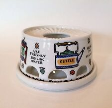 Extremely Rare Piero Fornasetti Teapot Warmer Five Golden Rules for Tea Making